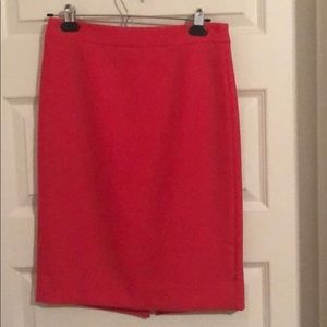 J. Crew No. 2 Pencil Skirt Double-serge Wool